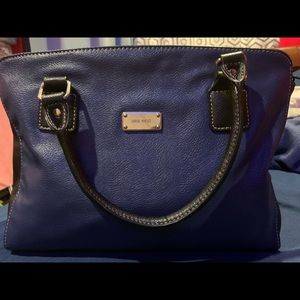 Navy blue Nine wets shoulder bag